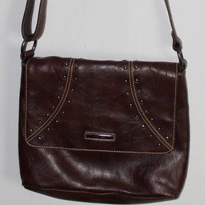 NINE WEST MEDIUM BROWN SHOULDER BAG